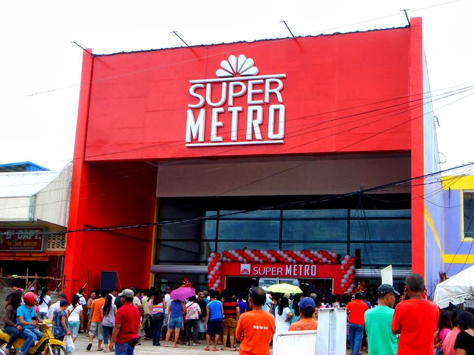 Outside Super Metro - Bogo City