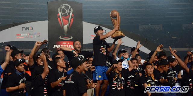Persib Bandung Juara Piala Presiden 2015, Kalahkan Sriwijaya FC 2-0