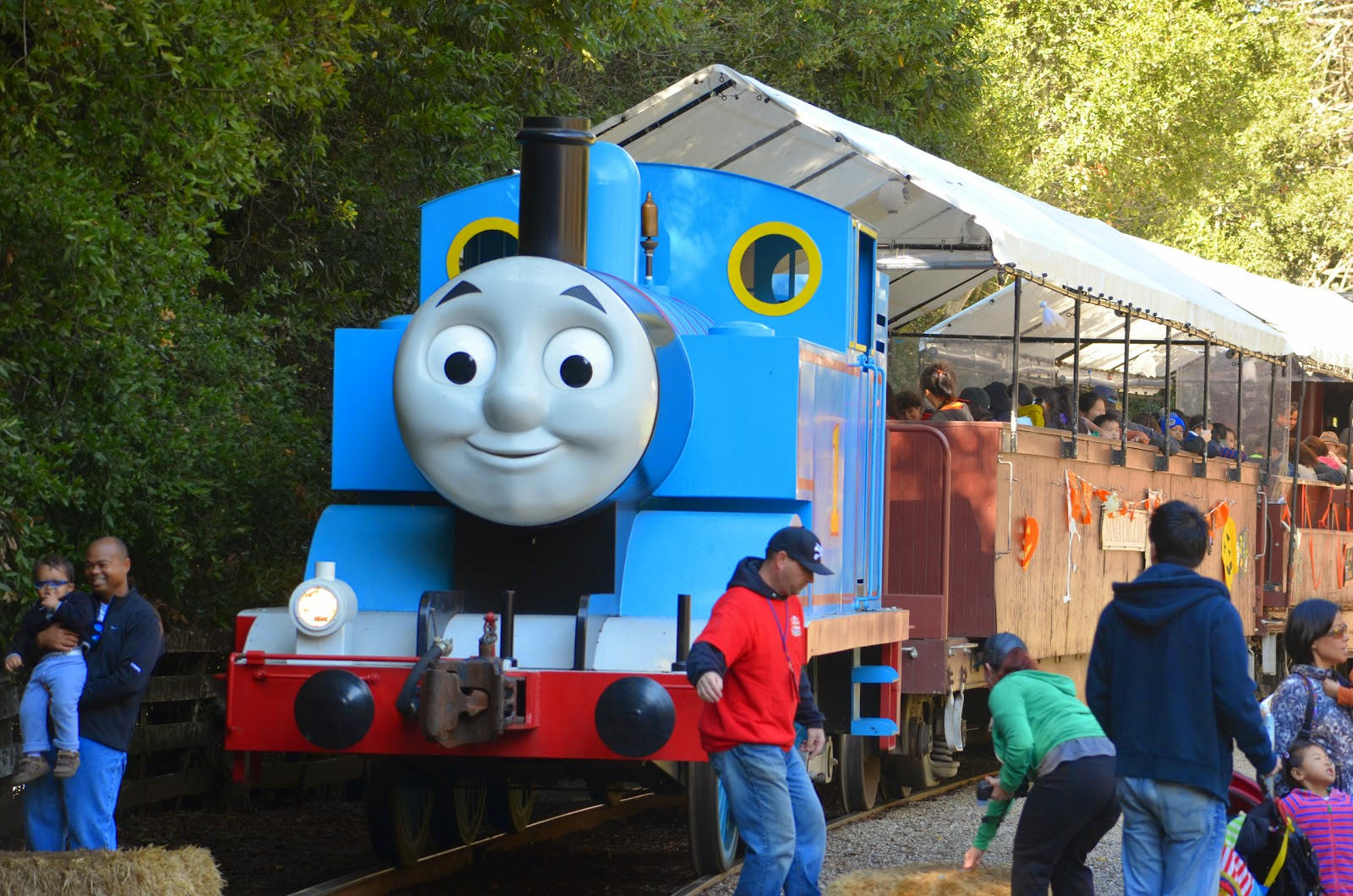 Tough is not enough: Thomas and Percy's Halloween Party