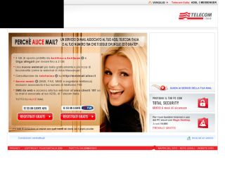 telecomitalia alice mail hard video italia