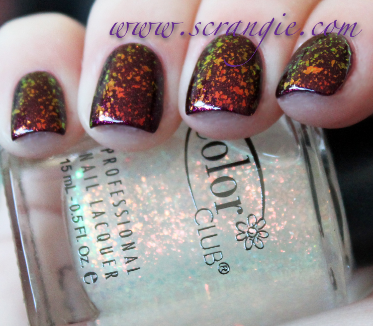 scrangie  color club winter affair collection holiday 2012 swatches and review