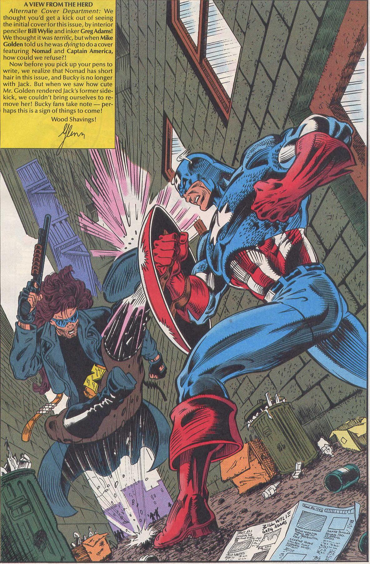Captain America (1968) Issue #420b #370 - English 23