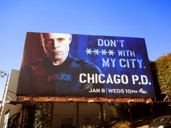 Chicago PD series premiere billboard