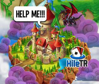 Castle Island / Kale Adası Kara Şövalye Ejderhası ve Beyaz Şövalye Ejderha Hilesinin Yapılışı