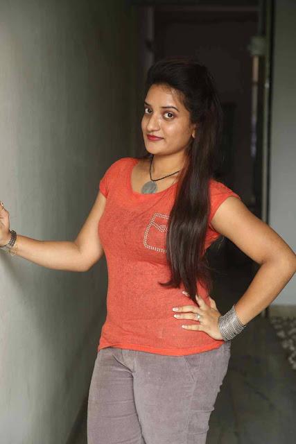 Janani Latest Photos At Premika Movie Press Meet