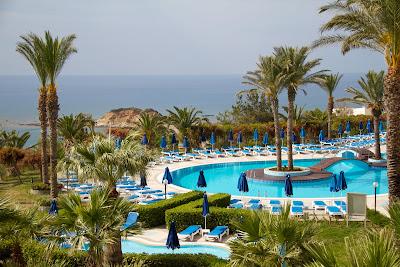 Enorme balneario en la isla de Rodas, Grecia.