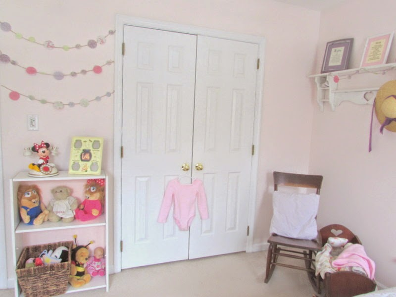 Girls Soft Pink Bedroom