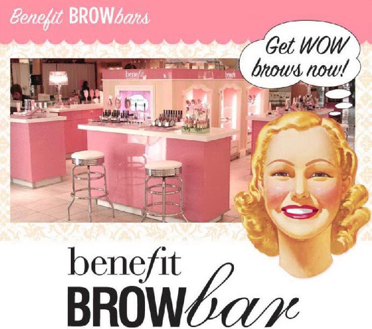 confession d 39 une accro du makeup j 39 ai test l 39 pilation des sourcils au brow bar benefit. Black Bedroom Furniture Sets. Home Design Ideas