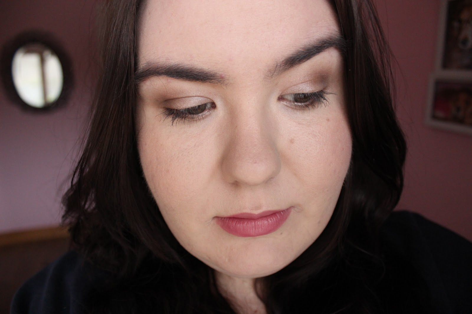 a neutral everyday makeup look