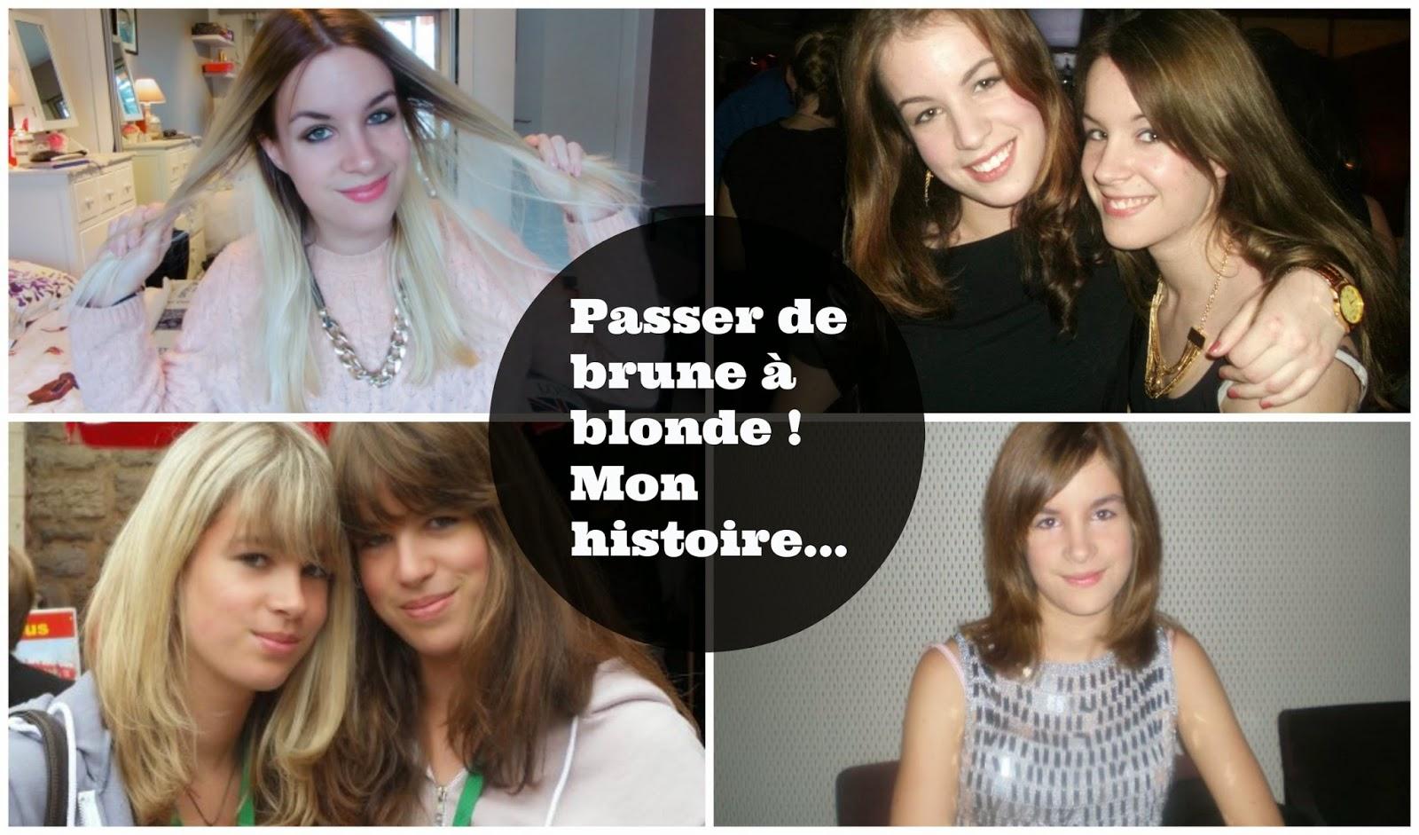 Passer de brune blonde mon parcours god save our dressing - Passer de blonde a brune ...