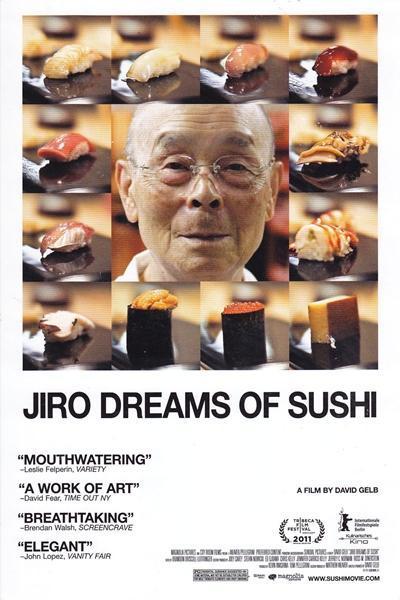 [สารคดี] Jiro Dreams Of Sushi จิโระ เทพเจ้าซูชิ
