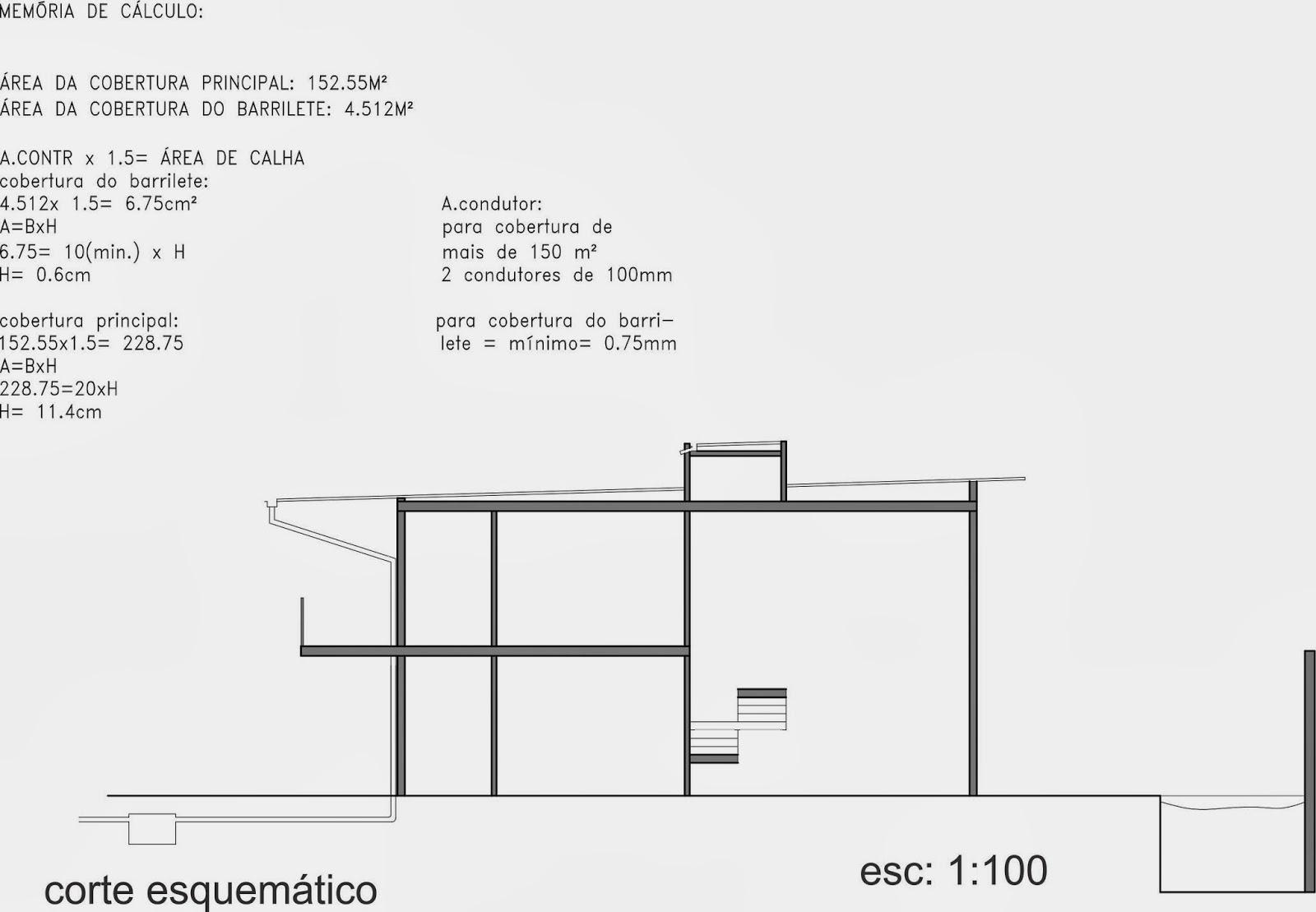 Pellegrino : Projeto de instalações hidráulicas para residência #676466 1600 1109