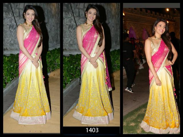 Bollywood Designer Half-net and Half georgette Designer saree