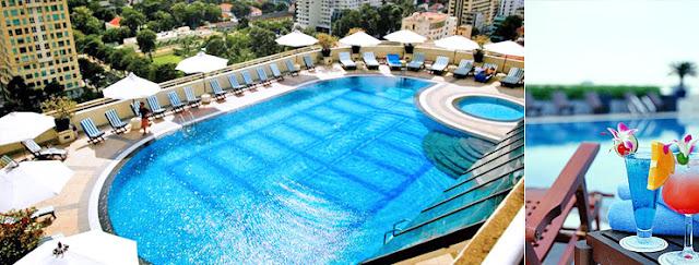 Bể bơi ngoài trời chung cư Silver Lotus