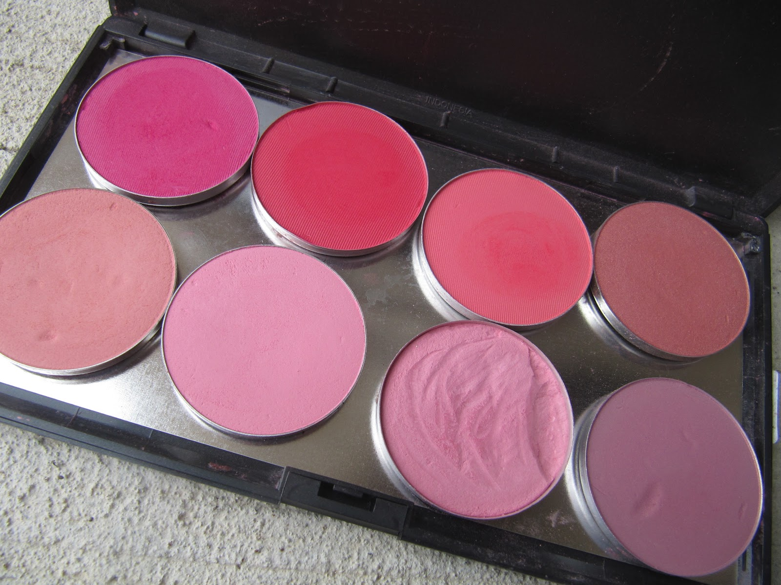 Funny Face Beauty: My MAC Blush Collection