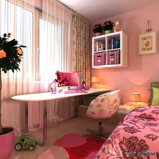 красивые комнаты для девочки 14 лет