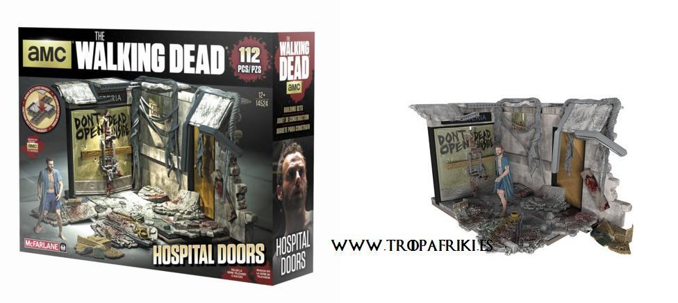 Las mejores 7 maquetas de the walking dead para que las for Puerta walking dead