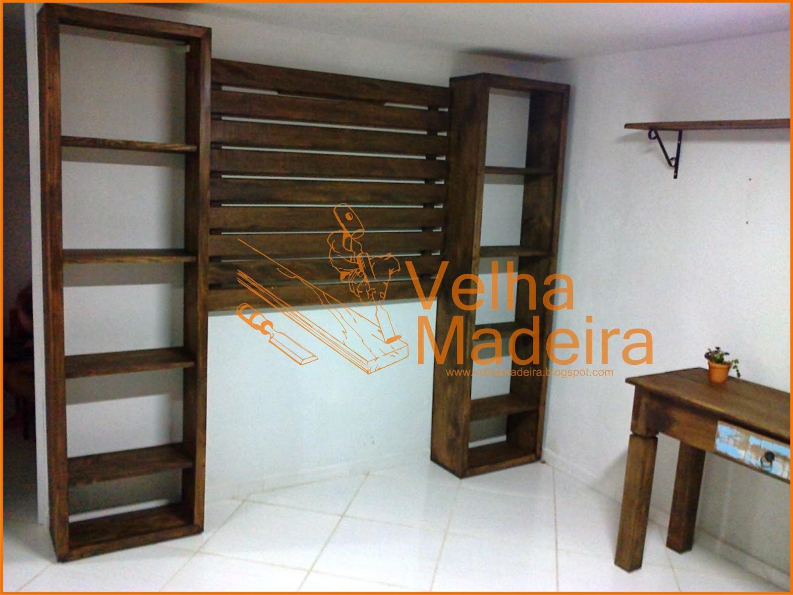 Madeira de Demolição: Movéis para Salão de Beleza #A96222 1600x1202