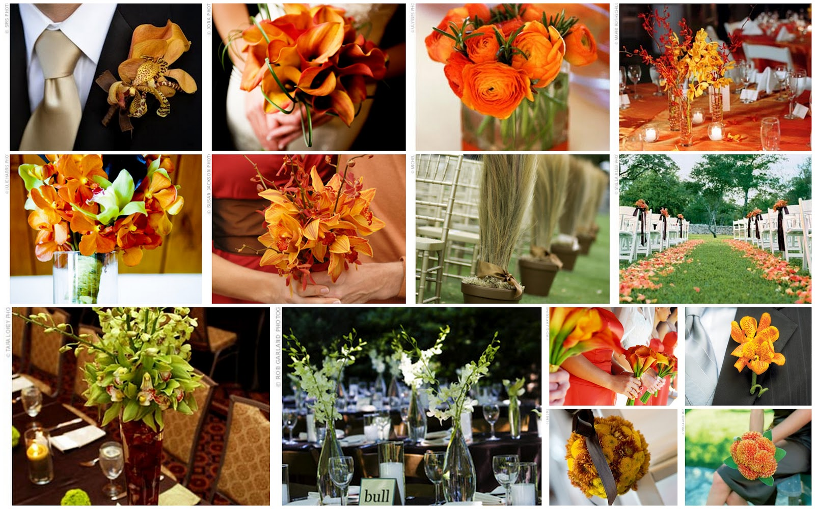 Fall wedding a wedding for adding a season s effect for Autumn wedding decoration ideas