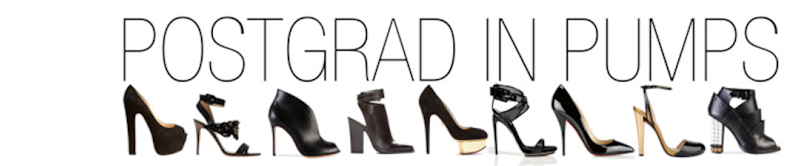 POST GRAD IN PUMPS