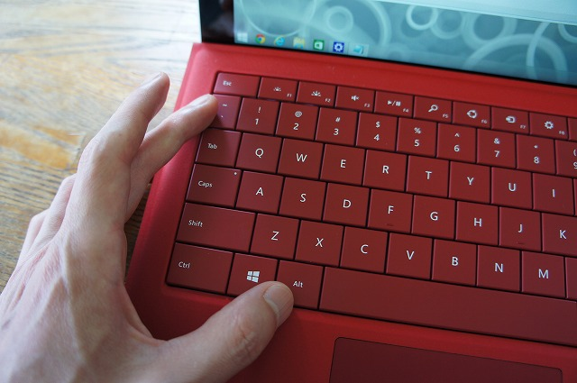 Surface Pro 3 US配列キーボードの ...