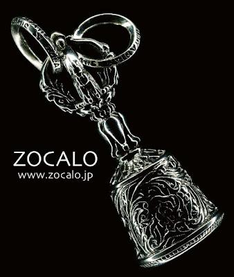 日本銀器品牌ZOCALO 的金剛鈴杵