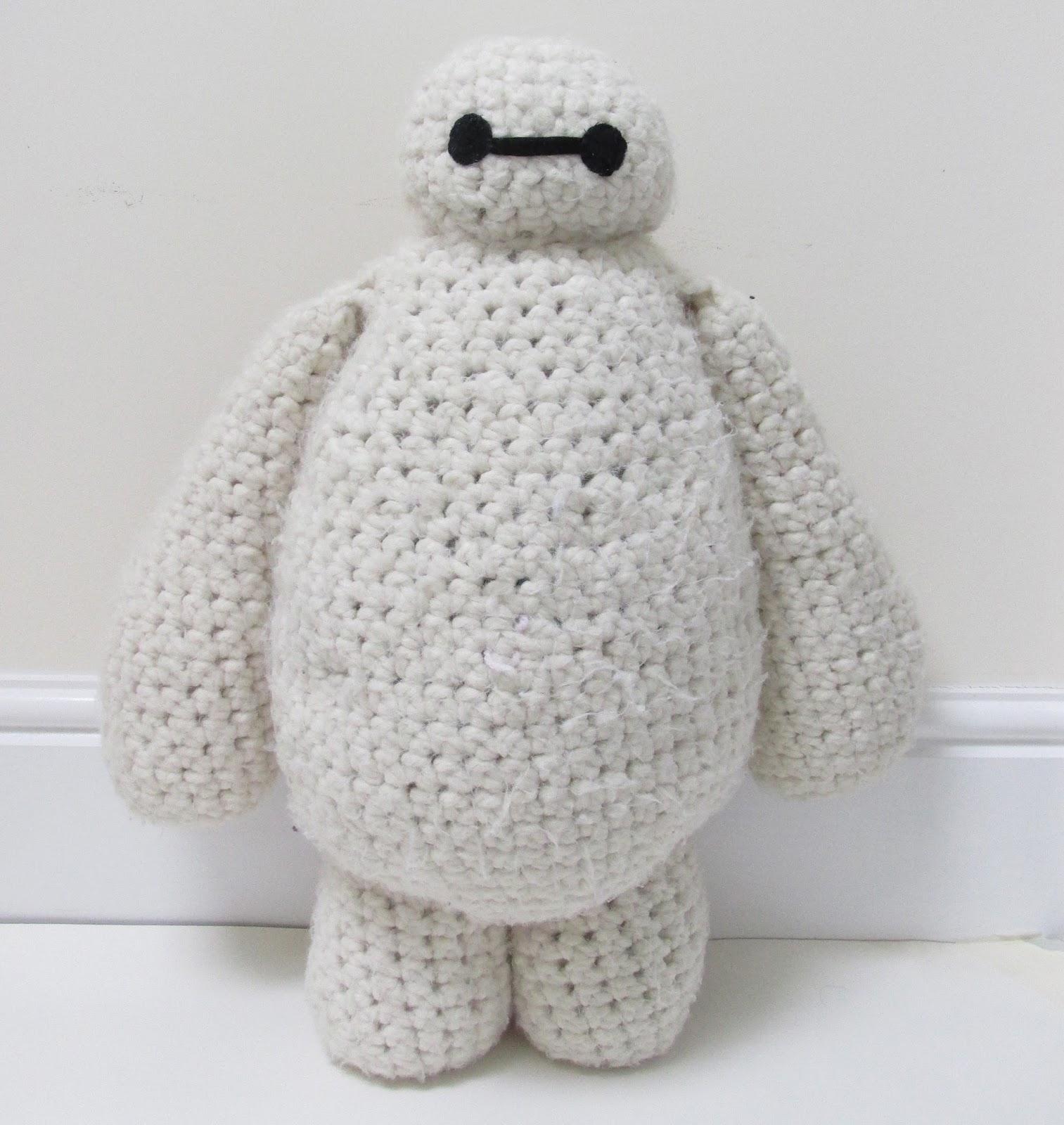 Free Baymax Crochet Pattern | steel and stitch