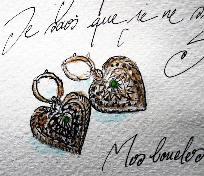 """"""" Quintessence """" Mes boucles d'oreille"""