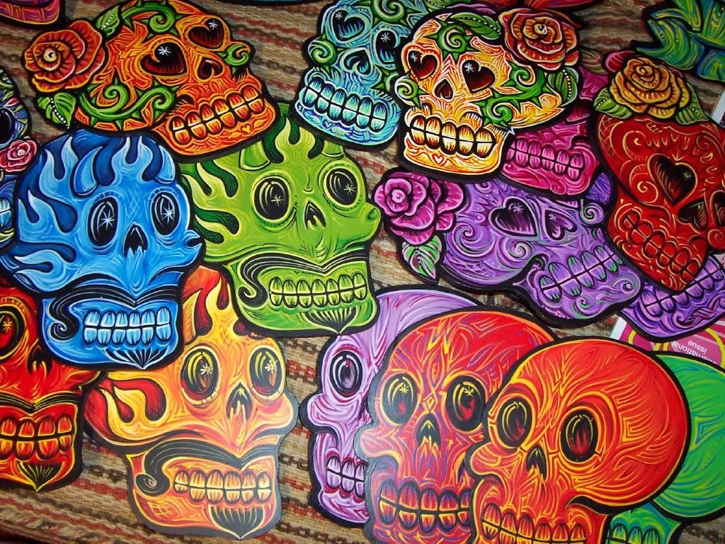 Dia de los Muertos HD desktop wallpaper : High Definition : Mobile