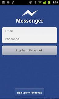 Facebook Messenger apk aplikasi chatting facebook untuk Android