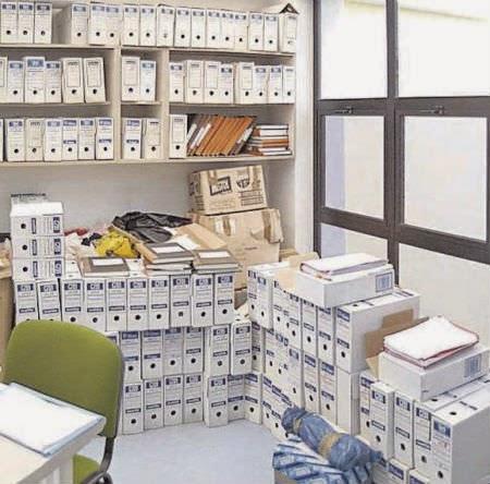 El caos en los archivos sitúa a los juzgados de Vilagarcía en la peor situación de toda Galicia
