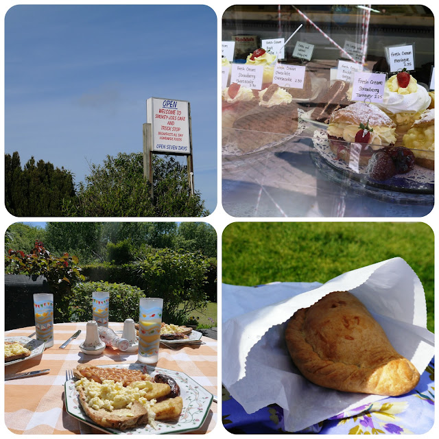 Cornish pasties, cakes and Smokey Joe's Cafe