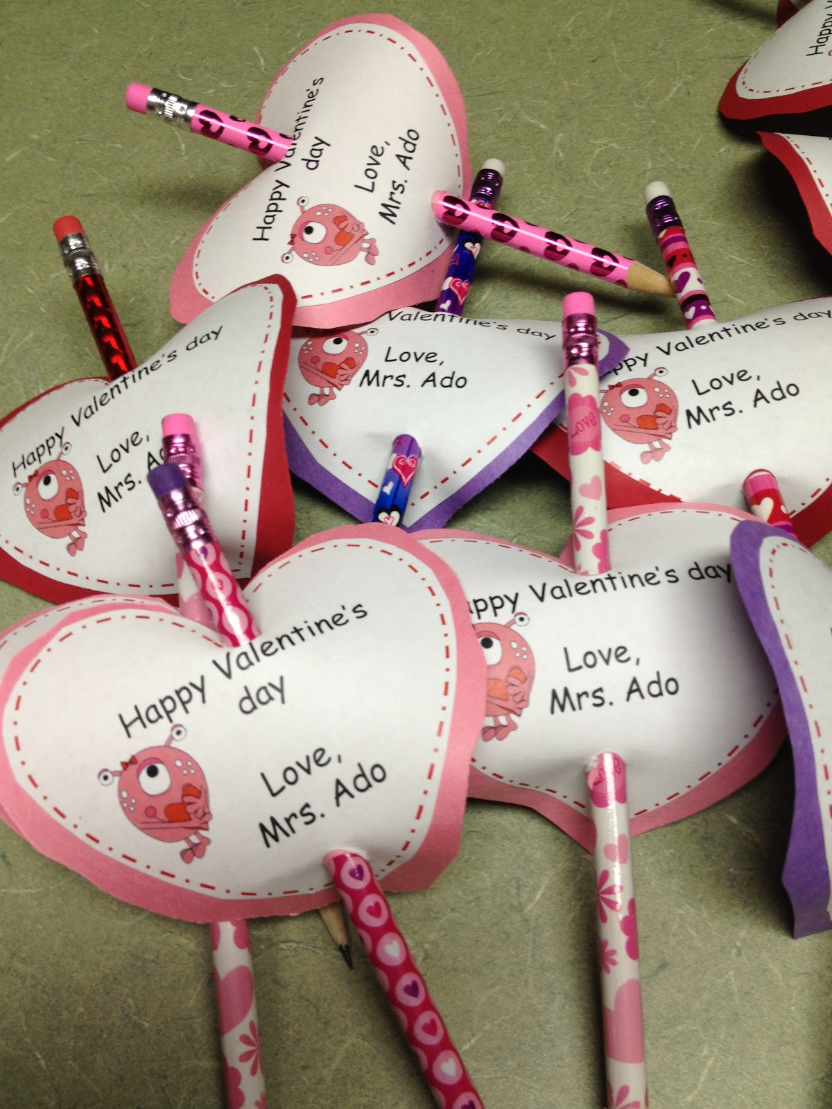 easy to make valentines for students - Valentines For Students