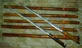Pedang rotan  stainless steel