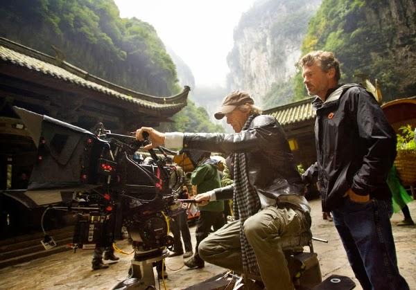 """Michael Bay en el rodaje de """"Tranformers 4: Age of Extintion"""