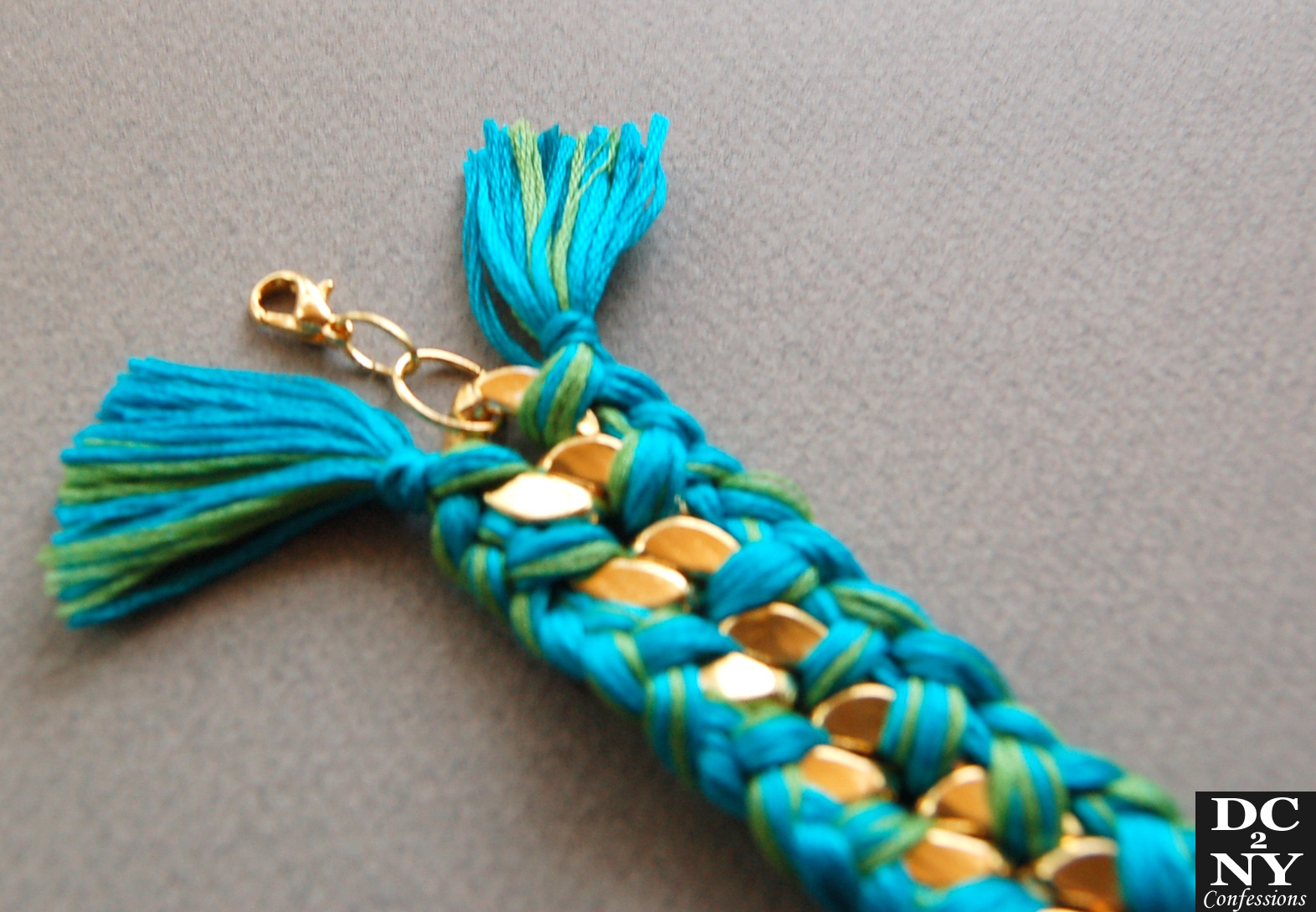 dc2nyconfessions diy aurelie bidermann boho bracelet