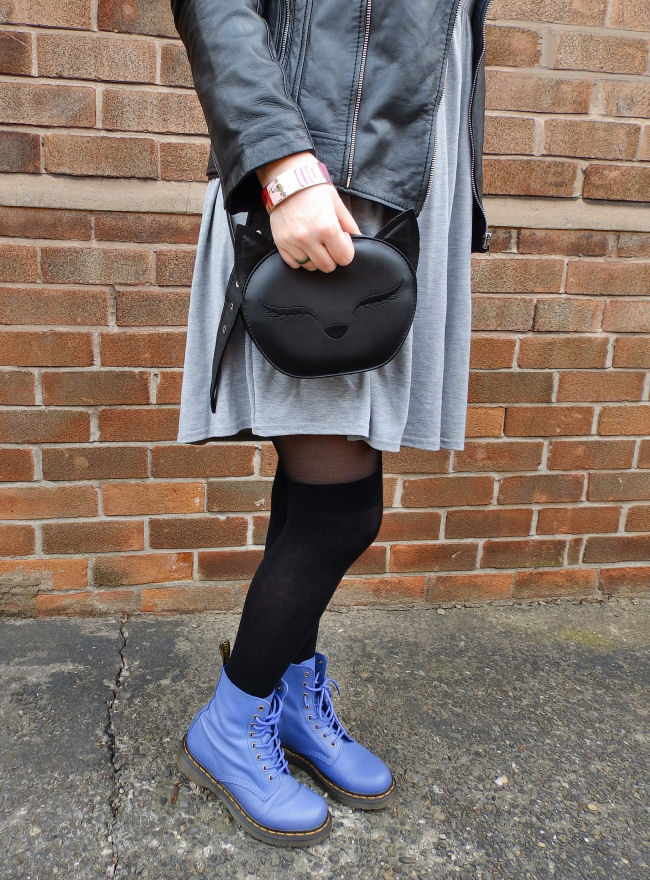 uk fashion blogger liverpool Breo Sunglasses Dr Martens outfit post Swarovski Slake Bracelet