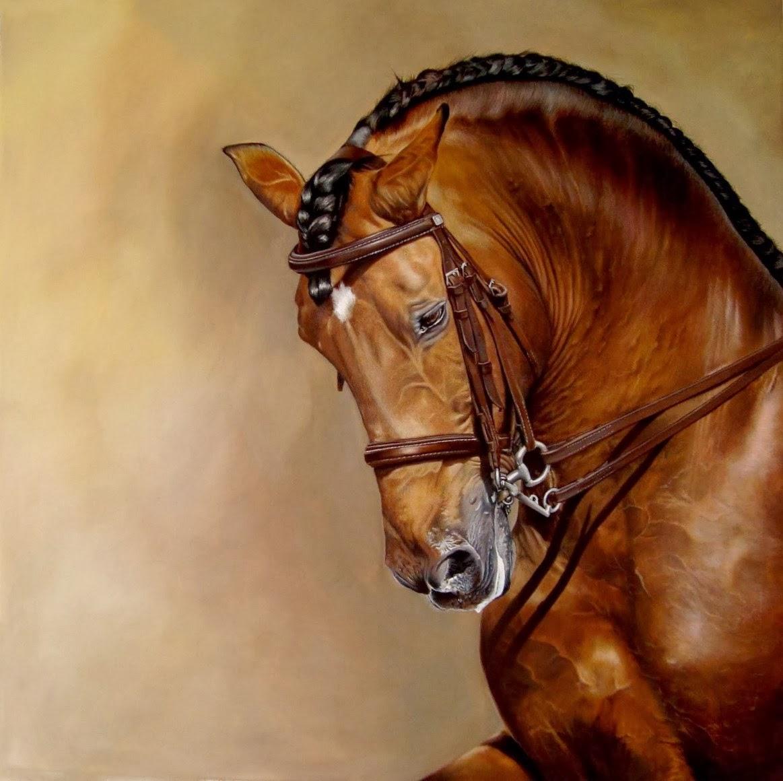 dibujos-de-caballos-al-oleo
