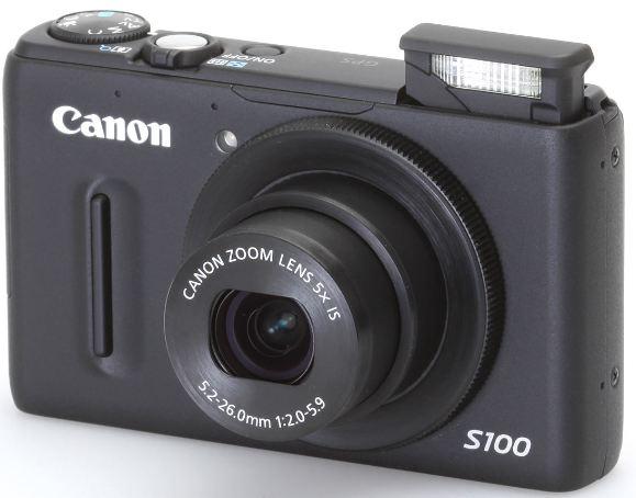 מצלמה דיגיטלית קומפקטית קנון  - Canon PowerShot S100