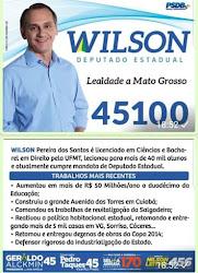 DEPUTADO ESTADUAL PROFº WILSON SANTOS (PSDB-MT)