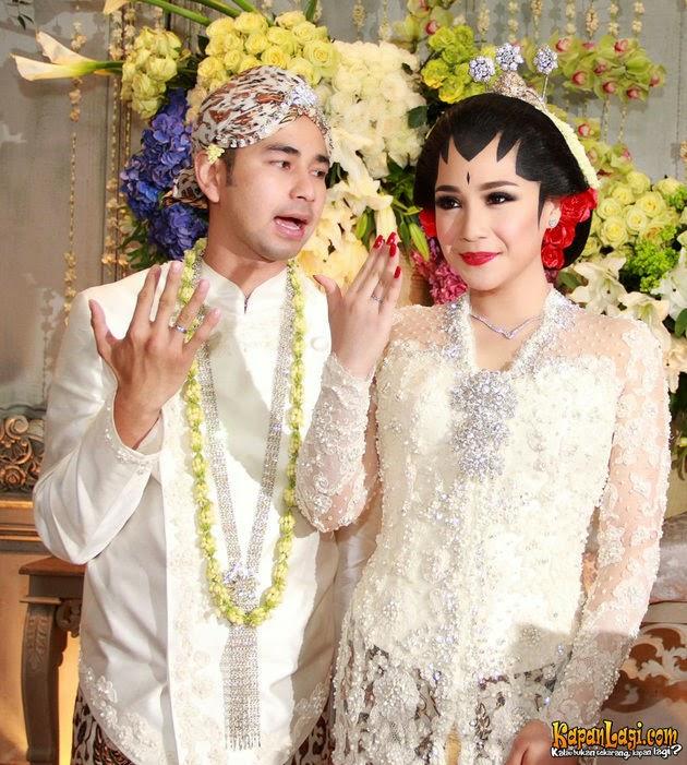 Model Kebaya Pesta Pernikahan Raffi Ahmad dan GIGI