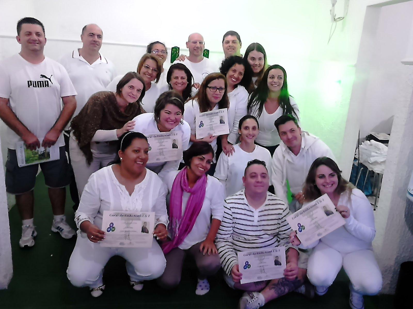 Curso Reiki Níveis 1 & 2 - Guarulhos 2015