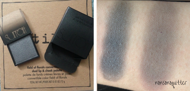 Surratt Beauty Artistique Eyeshadow in Enchantresse Swatch Review NC20 Asian Skin