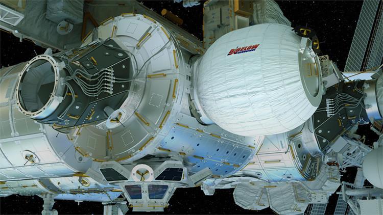 El módulo BEAM será usado en el espacio como esclusa de aire para la estación espacial.