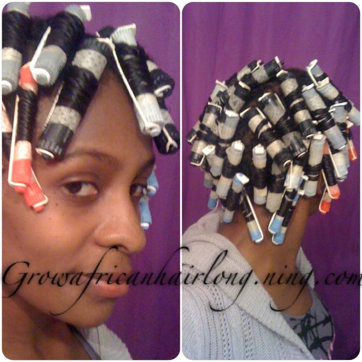First perm rod set 11 weeks post texlax grow african hair long gahl first perm rod set 11 weeks post texlax solutioingenieria Images