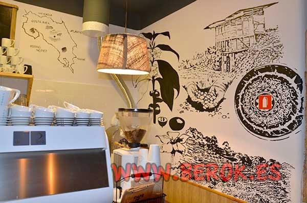Ilustración café de Cuba