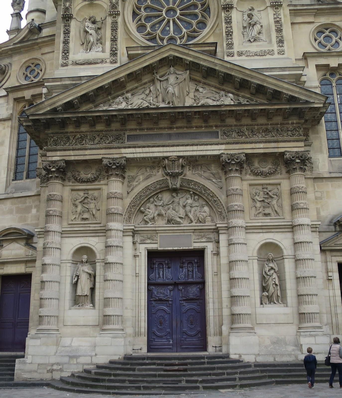La rte le p re d 39 ulysse eglise saint etienne du mont paris v me arrondissement - Mobilier jardin d ulysse saint etienne ...
