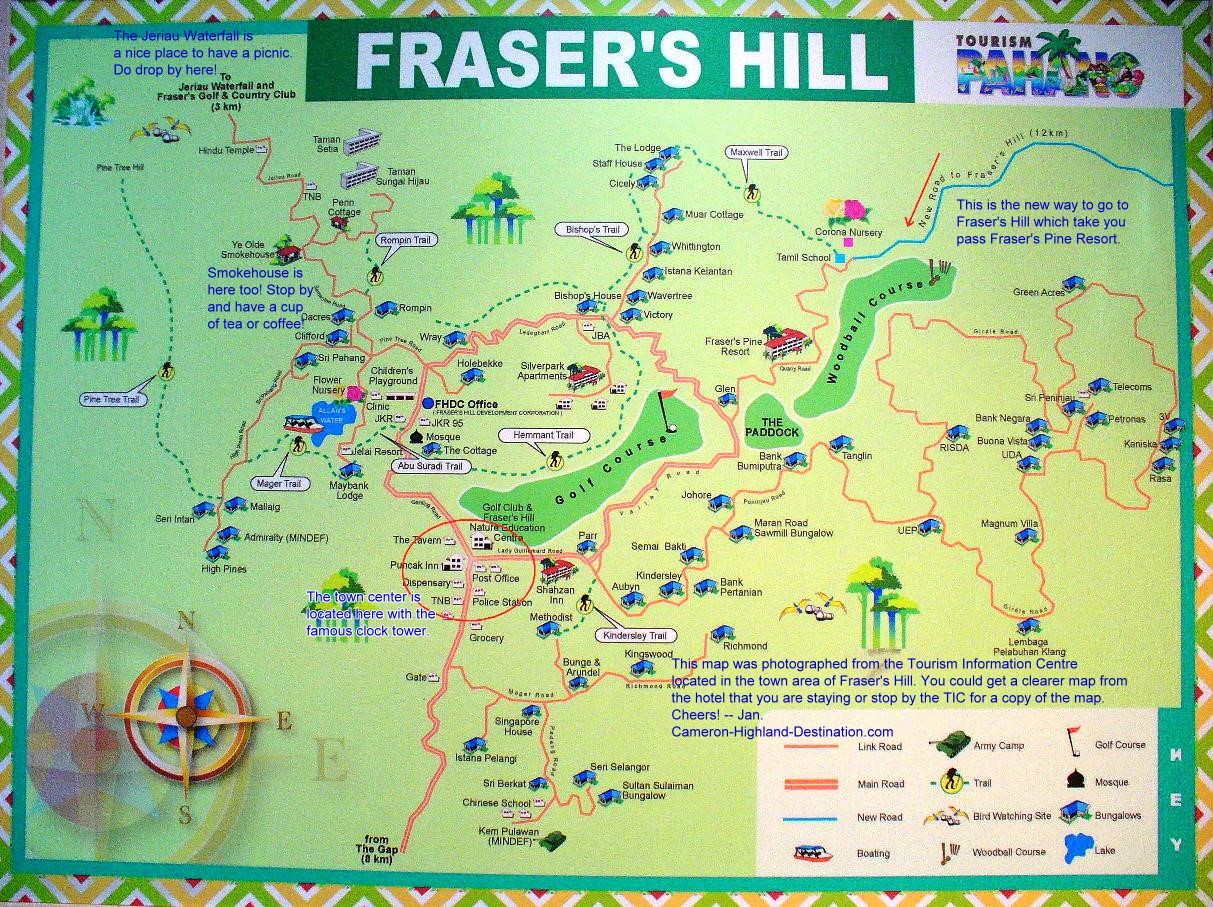 Fraser Hill Malaysia  city pictures gallery : Bukit Fraser Fraser's Hill