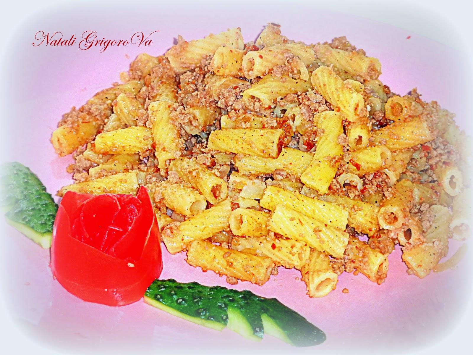Как приготовить макароны по флотски с фаршем на сковороде рецепт с