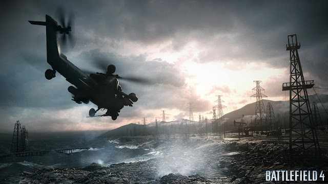 Battlefield 4 Helicopter HD Wallpaper
